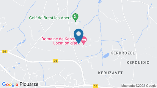 Domaine de Kerzuat - Chambres d'hôtes  Map