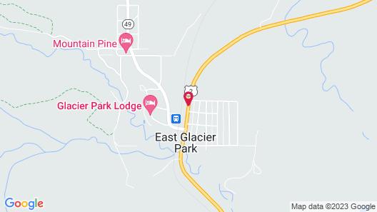 Whistling Swan Motel Map