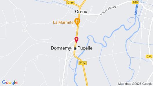 Le Clos Domremy  Map