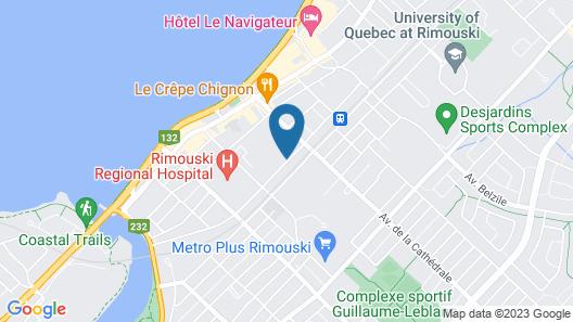 Auberge de l'Evêché Map