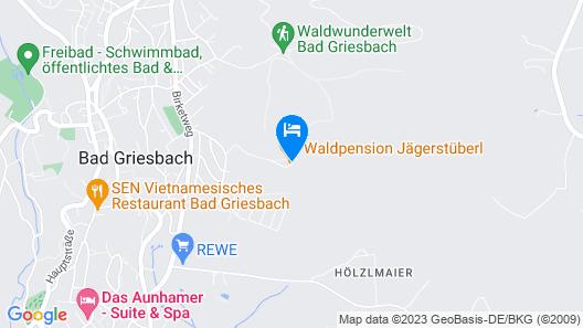 Waldpension Jägerstüberl Map
