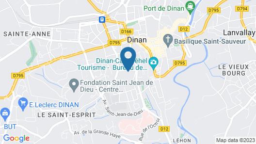 Villa Tourelle Map