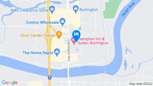 Candlewood Suites Burlington South Map