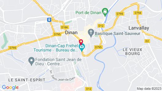 Citotel Le Challonge Map