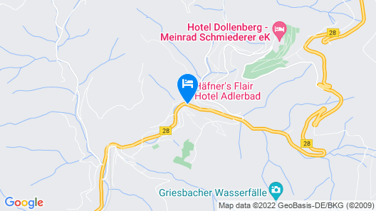 Hotel Kimmig Map