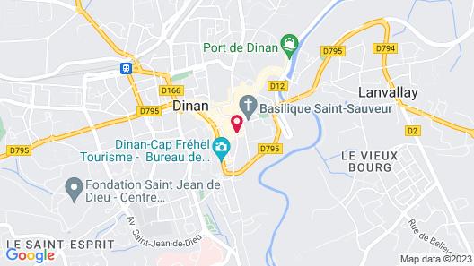 Hotel Arvor Map