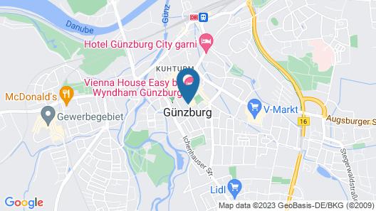 Vienna House Easy Günzburg Map