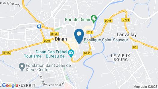 La Maison Pavie Map