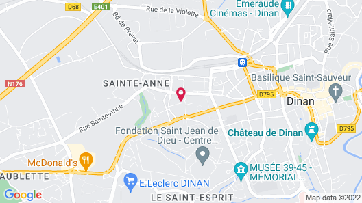 Vacancéole - Dinan Duguesclin Map