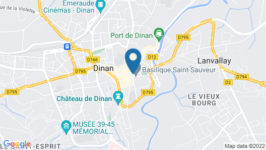 In the Heart of the Historic Center, the Painter's House 3 Star Rating Map