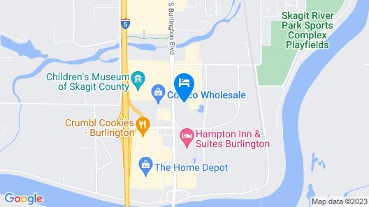 La Quinta Inn & Suites by Wyndham Burlington Map