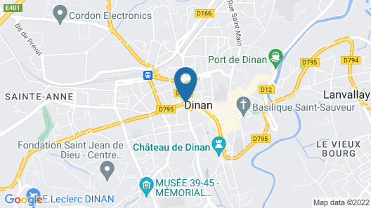 ibis Styles Dinan Centre Ville Map