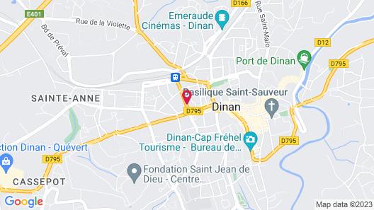 Villa Côté Cour Map