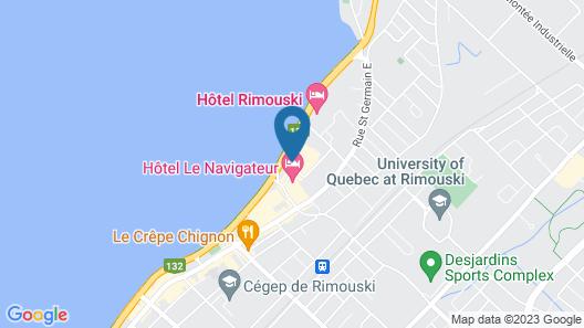 Hôtels Gouverneur Rimouski Map
