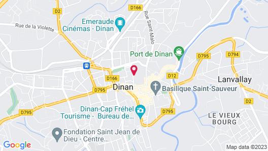 Gîtes et maison d'hôtes Domaine de la Garaye Map
