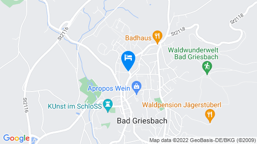 Columbia Hotel Bad Griesbach Map