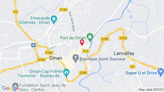 Le Logis du Jerzual Map