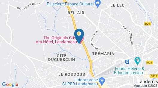 The Originals City, Ara Hôtel Map