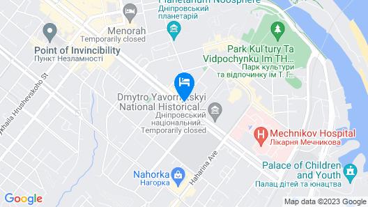 Hotel Academy Map