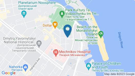 Light Hotel Map