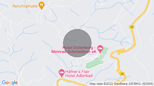 2 Bedroom Accommodation in B. Peterstal-griesbach Map