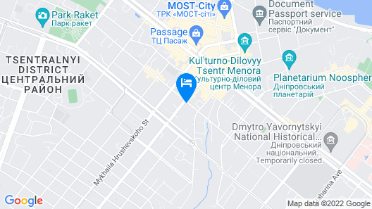 Hotel Business Apartments Map