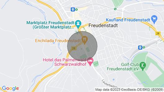 City Flat Opposite Kurhaus, Center Freudenstadt Map