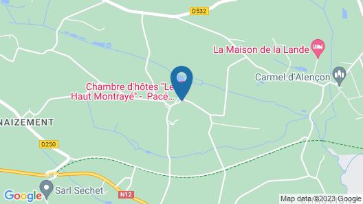 Le Haut Montrayé Map