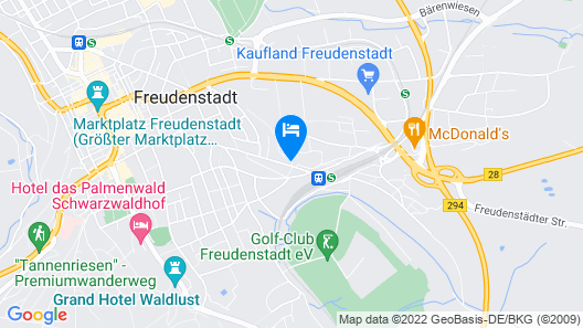 Hotel König Karl Map