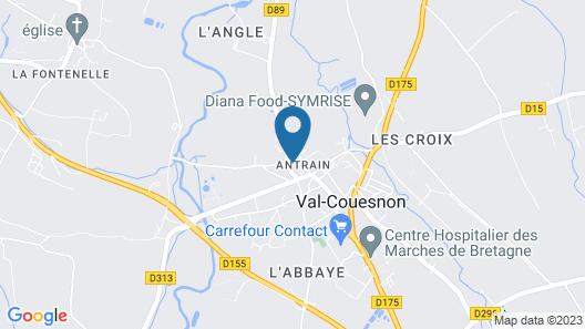 La Maison de Claire Map