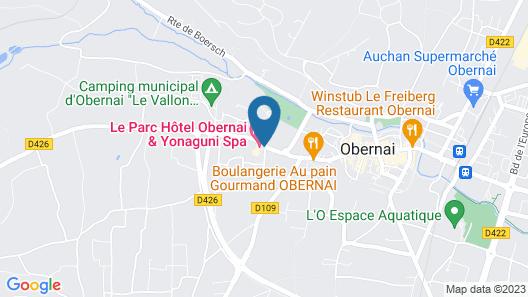 Le Parc Hôtel Obernai & Yonaguni Spa Map