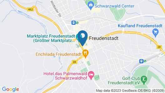 Arkaden Hotel Krone Map