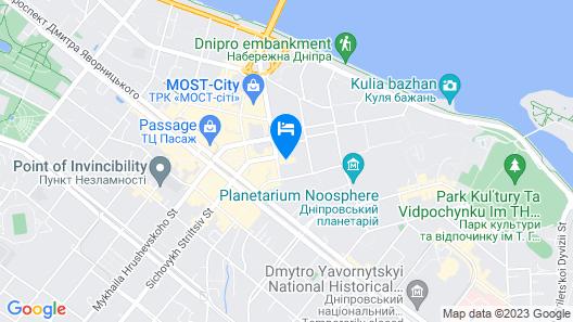 Menorah Hotel Map