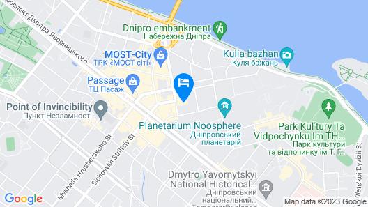 7 Days City Hotel Map