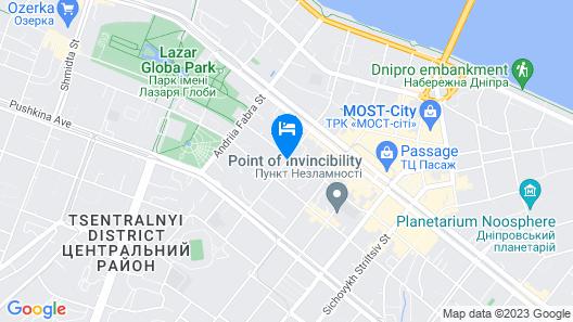 Hotel European Map
