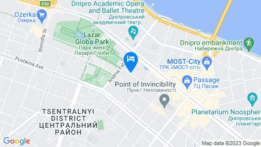 Axelhof Boutique Hotel Map