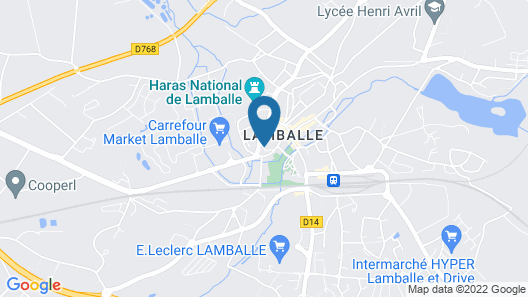 Hotel le Lion d'or Map