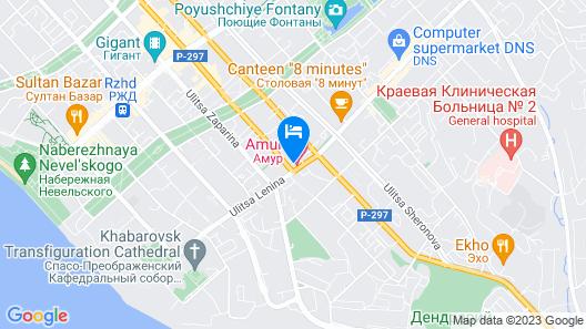 Amur Hotel Map