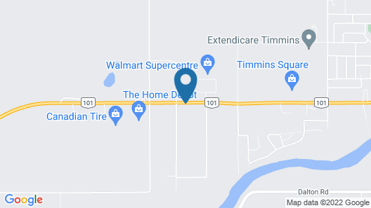Microtel Inn & Suites by Wyndham Timmins Map