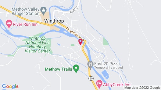 Methow River Lodge & Cabins Map