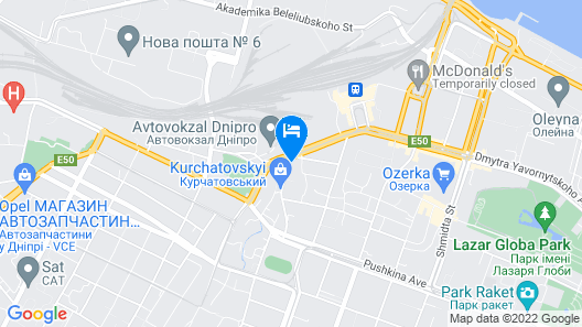 Premier Hotel Abri Map