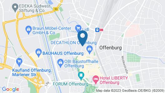 ibis Styles Offenburg City Map