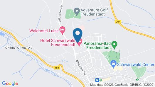 Hotel Schwarzwald Freudenstadt Map