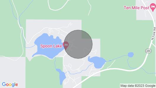 Modern Mountain Retreat ~ Close to Glacier National Park Map