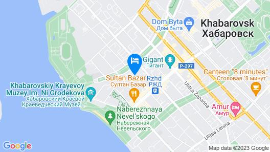 Boutique-hotel Khabarovsk City Map