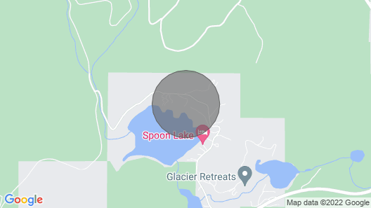 Spoon Lake Lookout ~ Private Lakefront Getaway ~ Minutes From Glacier National Park Map
