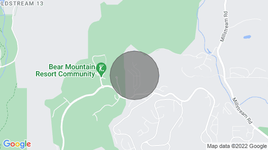 Bear Mountain Getaway Map
