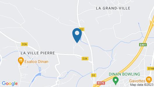 La Vallée du Launay Map