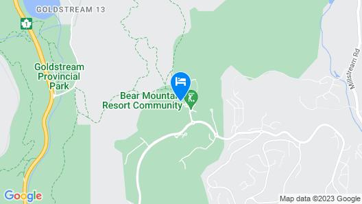 Fairways Hotel on the Mountain Map