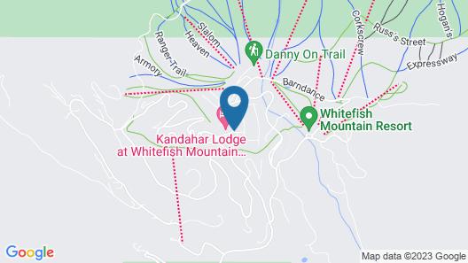 Kintla Lodge Map